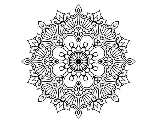 Colorear Mandalas Mandalas Dibujos Para Colorear Mandalas: 59 Best Dibujos De Mandalas Para Colorear Images On Pinterest