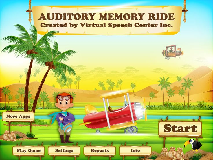 The Auditory Memory Ride app is a comprehensive and fun app for students aged six to 13 with central auditory processing disorder (CAPD) or other related disorders (e.g., receptive language disorder or autism).   The Auditory Memory app includes over 1000 stimuli with pre-recorded audio and the ability to introduce background noise.   The app includes both recognition and recall tasks with the ability to delay the presentation of the stimuli. There are five modes of delay, including No…