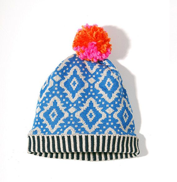 Himalaya Blue Hat by sheilacouture on Etsy