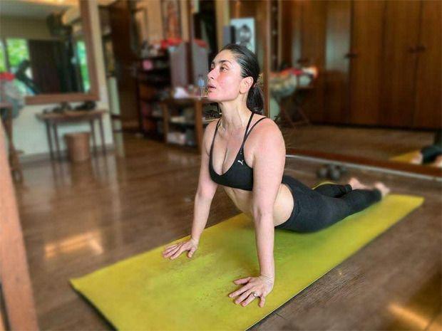 On Yoga Day 2020 Kareena Kapoor Khan Shares Her Fitness Secret Kareena Kapoor Khan Kareena Kapoor Yoga Day