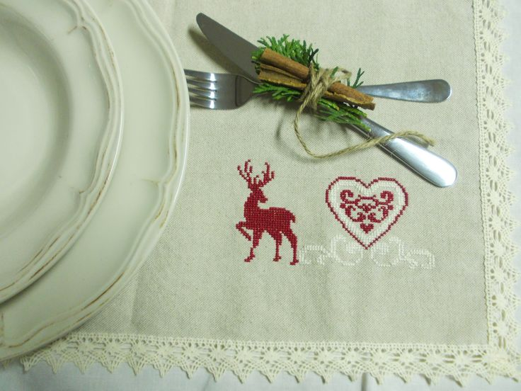 DIY something for your christmas dinner. reindeer