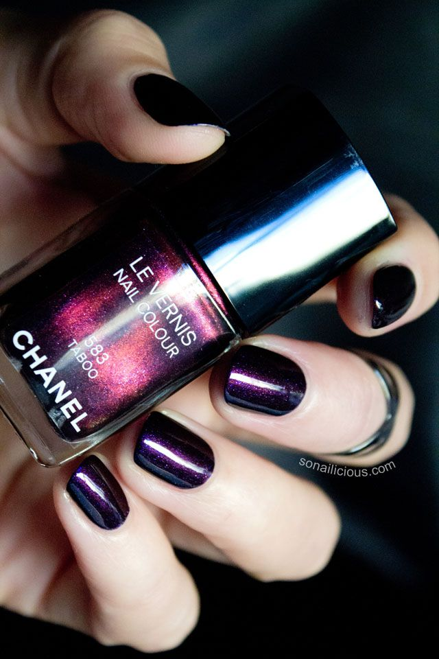 Chanel's Taboo - from So Nailicious, which is an AWESOME blog if you're interested in nail art and polish in general.