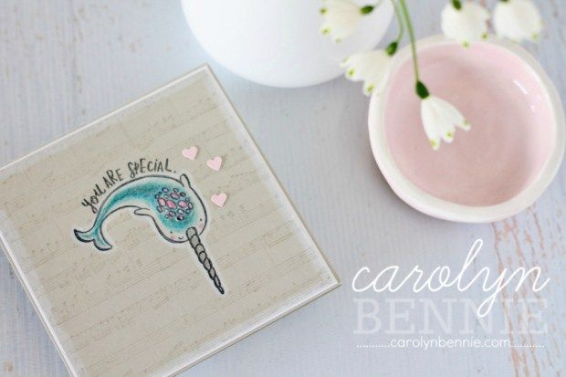 Stampin' Up! Quirky Critters and Watercolour Video Tutorial with Australian Stampin' Up! Demonstrator Carolyn Bennie
