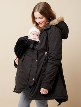 die besten 25 umstandsmode winterjacke ideen auf pinterest s e mutterschafts outfits winter. Black Bedroom Furniture Sets. Home Design Ideas