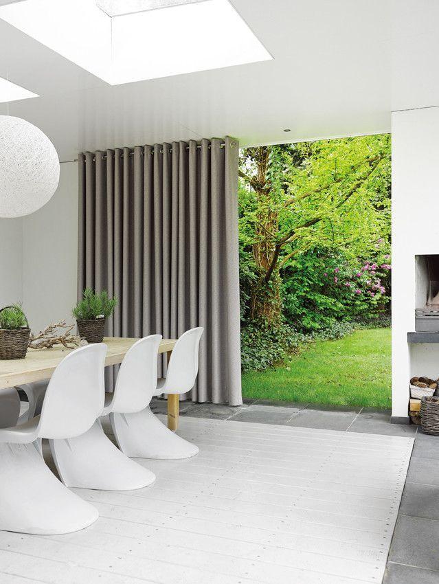 Kobe motion 14 interieur raambekleding gordijnen beige modern idee n voor het huis - Gordijnen interieur decoratie ...