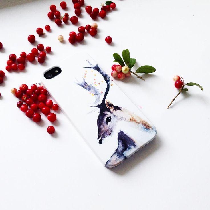 Кому волшебного оленя напоминающего о лесе тишине и сказке? На Hipoco.com ловите по слову олень. Автор акварели @golovkot_art. #hipoco #hipocoanimals #watercolor#watercolour#art#drawing#red#berries#illustration#iphone6s#iphonecase#iphone5s#sketch#deer#deers#олень#олени#брусника#ягоды#лес#иллюстрация#акварель#рисунок#чехол#чехолнаайфон#кейс#айфон4#айфон5#айфон6 hipoco.com