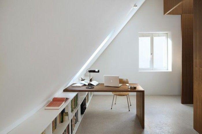 bureau domicil avec deco chambre mansardee deco chambre sous comble