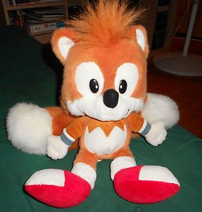 sonic the hedgehog tails plush caltoy 1994 toys and