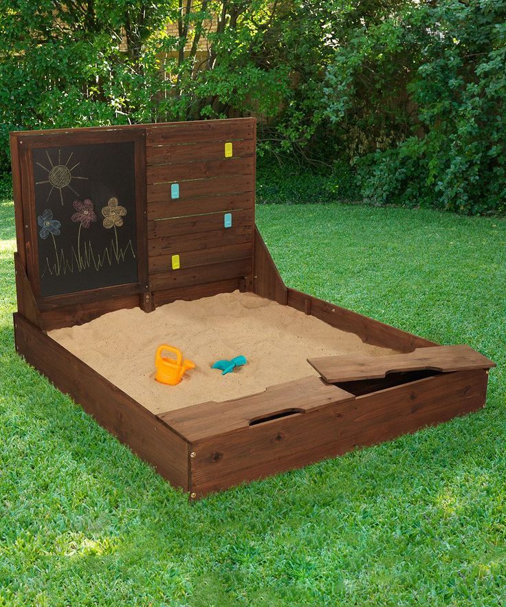 Best 25 Sandbox With Lid Ideas On Pinterest White Play