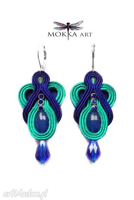 • pendientes de moda, joyas - pendientes trenza recogida zircone