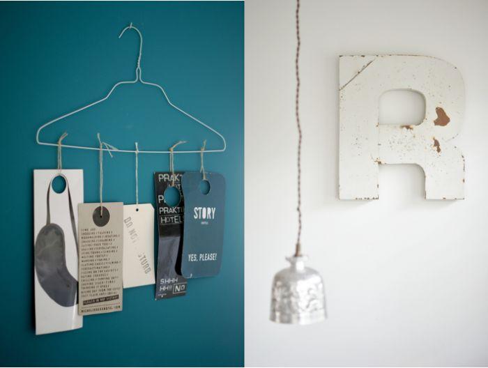 Ingrid Jansen souvenirs; coat hanger mobile