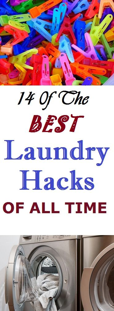 14 0f The Best Laundry Hacks of all time #laundry #Home #hometips #cleaning #cleaninghacks #cleaningtips