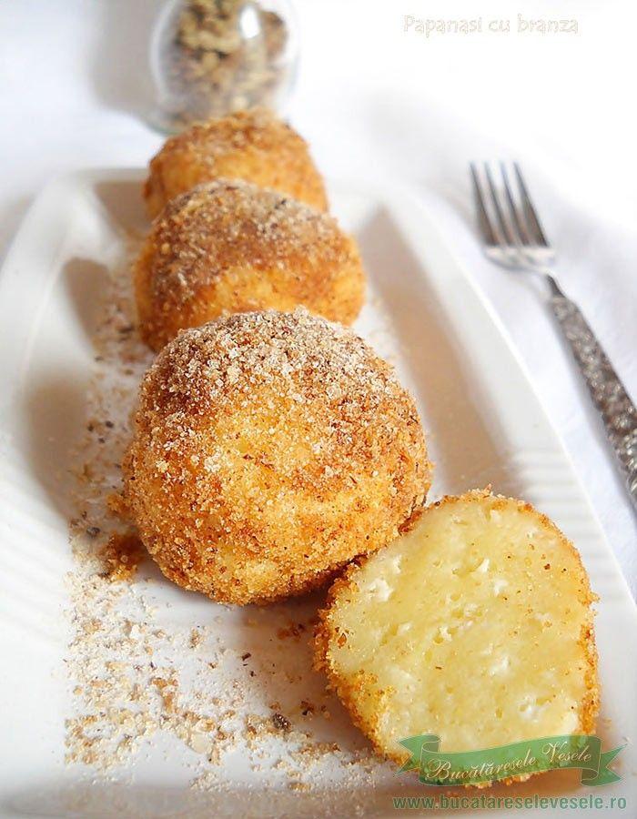 Papanasi cu branza- Turos gomboc Ingrediente: 200 g branza dulce de vaci(scoaca…