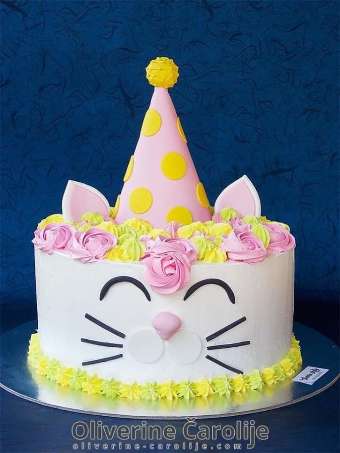 Kitty Cake By Oliverine Carolije Birthday Cake For Cat