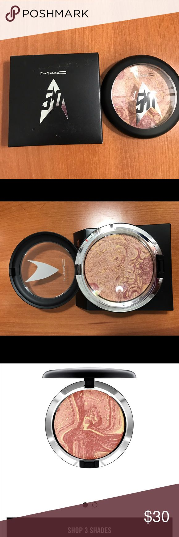 M.A.C Trip The Light Fantastic Powder It's brand new with box and never used. Price is firm 🤗🤗 MAC Cosmetics Makeup Face Powder