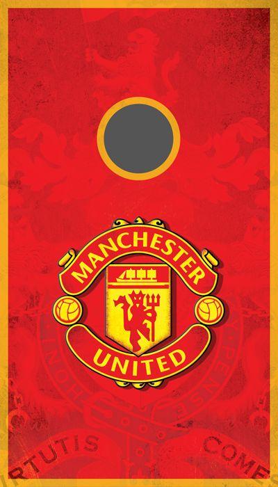 Manchester United Cornhole Bean Bag Toss Graphic Sticker
