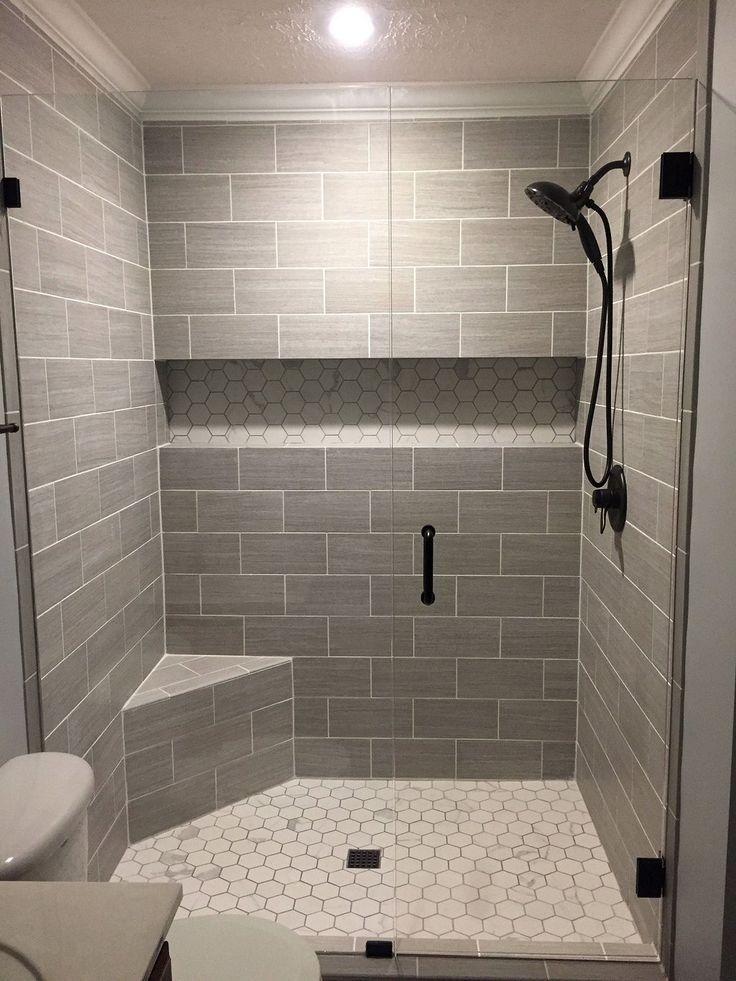 Master Badezimmer Begehbare Dusche Ideen Begehbare Diyrenovatingbathroom Dusche Ideen In 2020 Bathroom Remodel Shower Bathroom Shower Tile Small Bathroom Remodel
