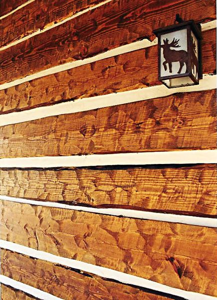 Rustic Exterior Siding Rustic Hand Hewn Log Siding In