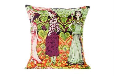 Frida Kahlo - Catrina - Cushion (purple)