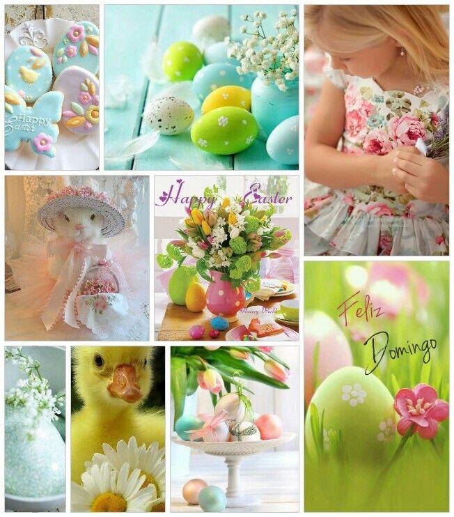 Child's Easter Celebration.