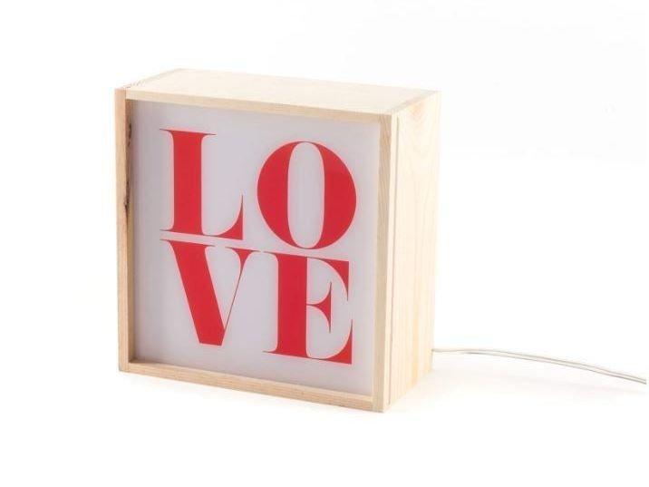 Descarga el catálogo y solicita al fabricante Lighthink boxes | lámpara de mesa By seletti, lámpara de mesa de madera, Colección lighthink boxes