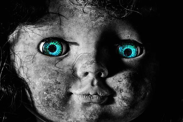 Creepy Dolls Scary Doll Possessed Haunting Haunted Blue