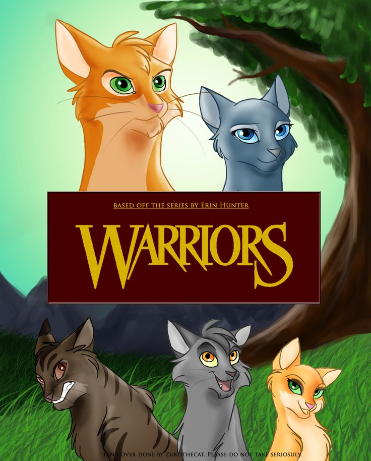 This is fantastic! Firepaw, Bluestar, Tigerclaw, Graypaw and Sandpaw.