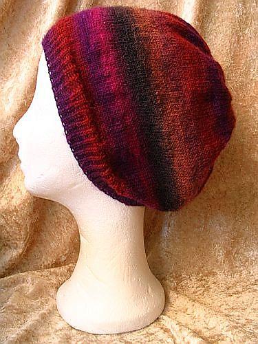 Sock Yarn Slouch Hat Free Pattern Yarn Love Knitting