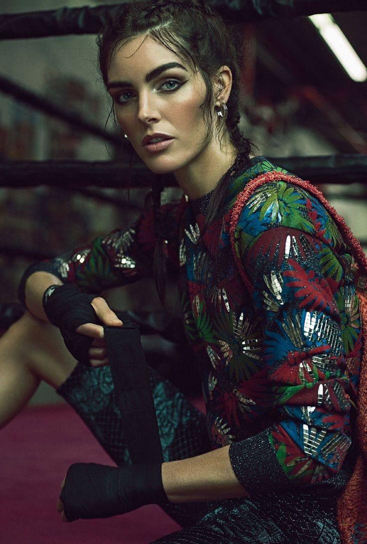 Photography:Daniel Martinez Matallana Styled by: Sarah Gore Reeves Hair: Felix Fischer Makeup: Rie Omoto Model: Hilary Rhoda