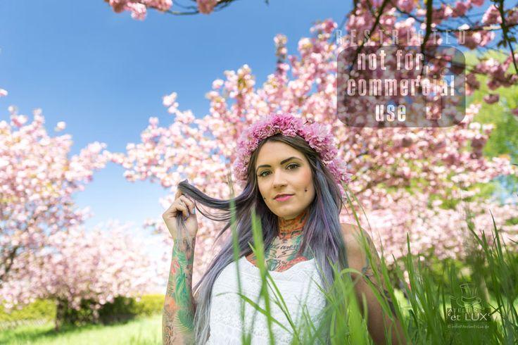 Session 'Cherry flower season'  Photography: Atelier 'et Lux' Model: ToxyFoxy