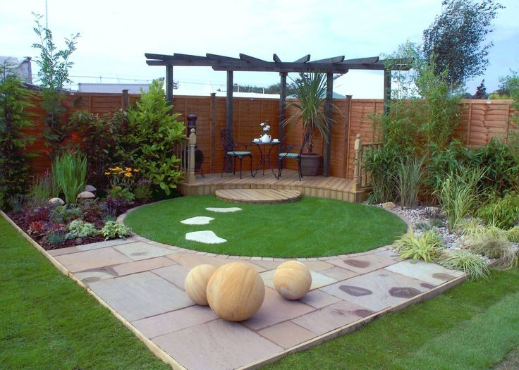Best 25+ Small garden design ideas on Pinterest | Simple garden designs,  Contemporary garden design and Artificial grass ideas small gardens