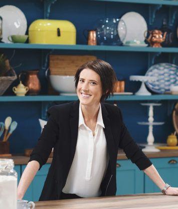 Anne Hirsch is 'n aanbieder van The Great South African Bake-Off. Ons het met haar gesels oor die nuwe seisoen. Fotos: BBC South Africa.