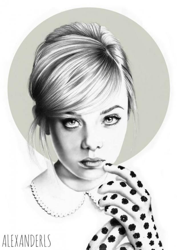 Alexander Smith inspired by Elle Fanning