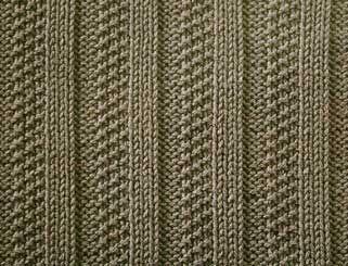 3 in 1 Rib Stitch - Knitting Pattern Stitch (knit and purl) - Written instructions and chart.