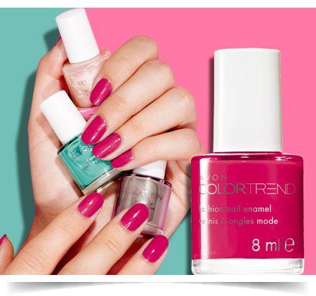 Color Trend Fashion Nail Enamel