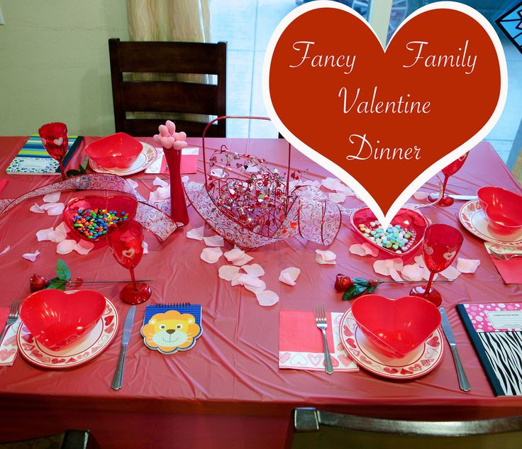 Fancy Family Valentine Dinner - fun family tradition