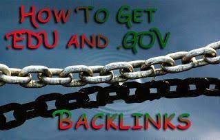 5 Cara Cerdas Mendapatkan Backlink Dari Domain .EDU dan .GOV? | D'Genera  Dan seperti yang Anda bayangkan bahwa top level domain .gov dan .edu memiliki tingkat kepercayaan khusus yang sangat tinggi oleh search provider seperti Google, Bing, dan Yahoo. Sehingga backlink dari domain tersebut dapat menambah peringkat website Anda ke tingkat lain. Berikut adalah beberapa teknik untuk mendapatkan backlink dari .gov dan .edu untuk situs Anda.