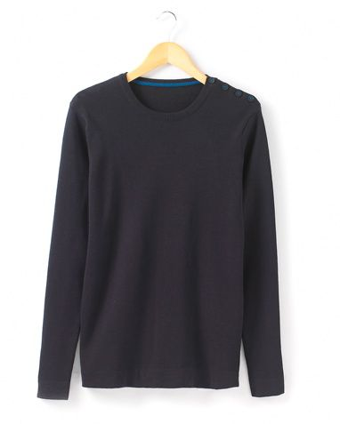 R Essentiel Genser i fargene Marine innen $GenderDepartment - Gensere & sweatshirts - La Redoute