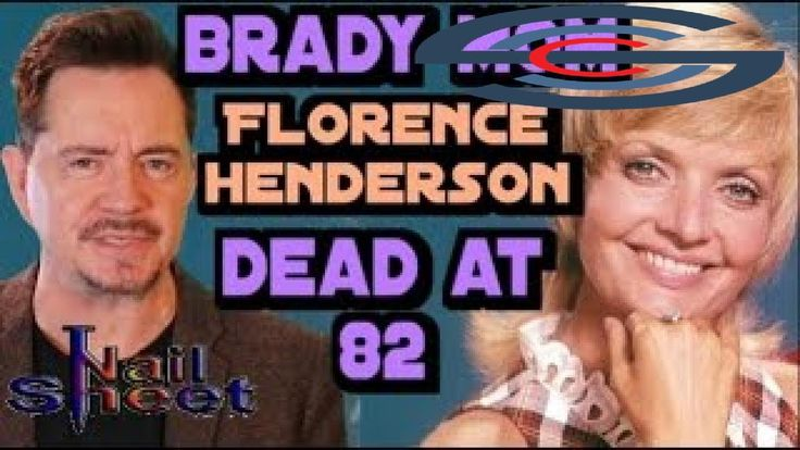 awesome Florence Henderson, Coolest TV Mom on 'The Brady Bunch,' Dies at 82  Weather Calgary Check more at http://sherwoodparkweather.com/florence-henderson-coolest-tv-mom-on-the-brady-bunch-dies-at-82-weather-calgary/