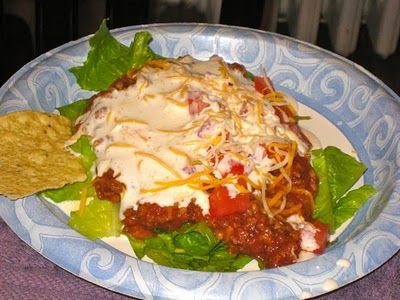 Ignore the taco salad (altho it looks good too!).  The dressing at the bottom of the page is AWESOME!  And, about 77 calories per 2 Tbs.