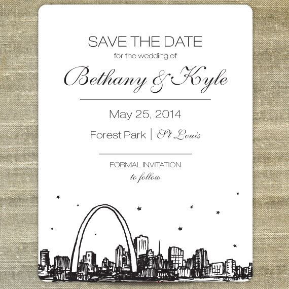 meet me in st louis wedding invitations