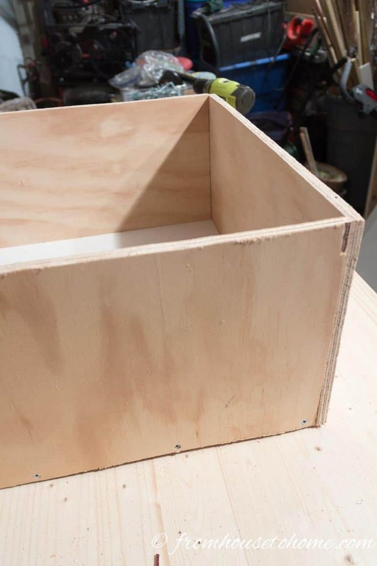 How To Convert Base Cabinet Shelves to Drawers in 2020 ...