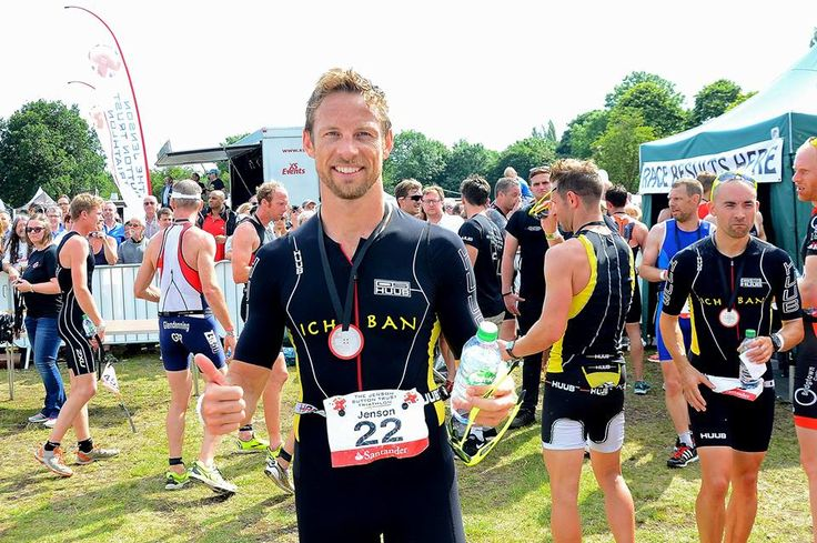 Jenson Button Trust Triathlon 2015
