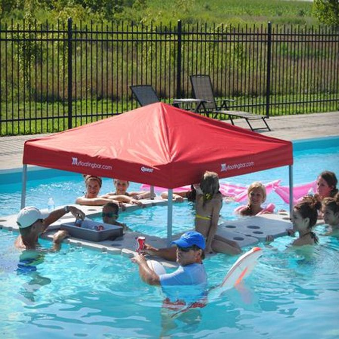 Five Pieces Floating Pool Bar | Cool Feed.me - Cool Stuff To Buy And