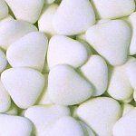 Wedding Candy Buffet White Confetti Hearts