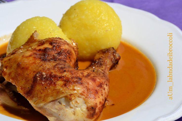 Pollo con salsa alla paprika fatta in casa