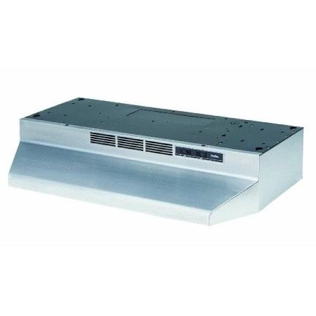 "Broan - 30"" Recirculating Range Hood - Stainless-steel 
