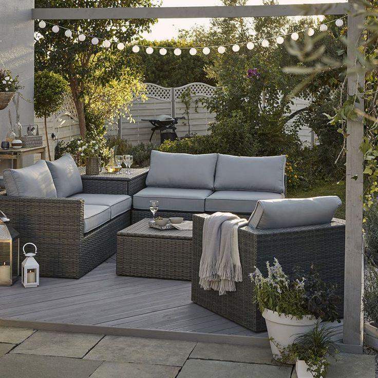les 25 meilleures id es de la cat gorie salon de jardin resine sur pinterest table de r sine. Black Bedroom Furniture Sets. Home Design Ideas