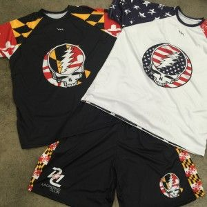 grateful dead lacrosse uniforms