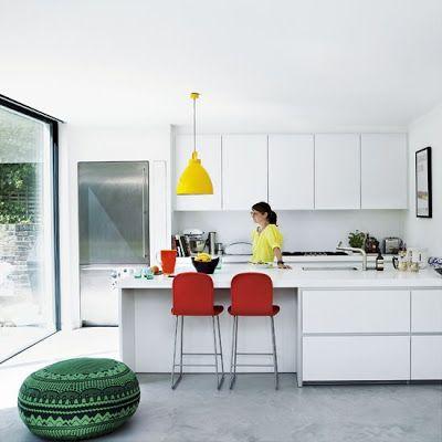Rosa's Inspiration : Primaire kleuren in je interieur